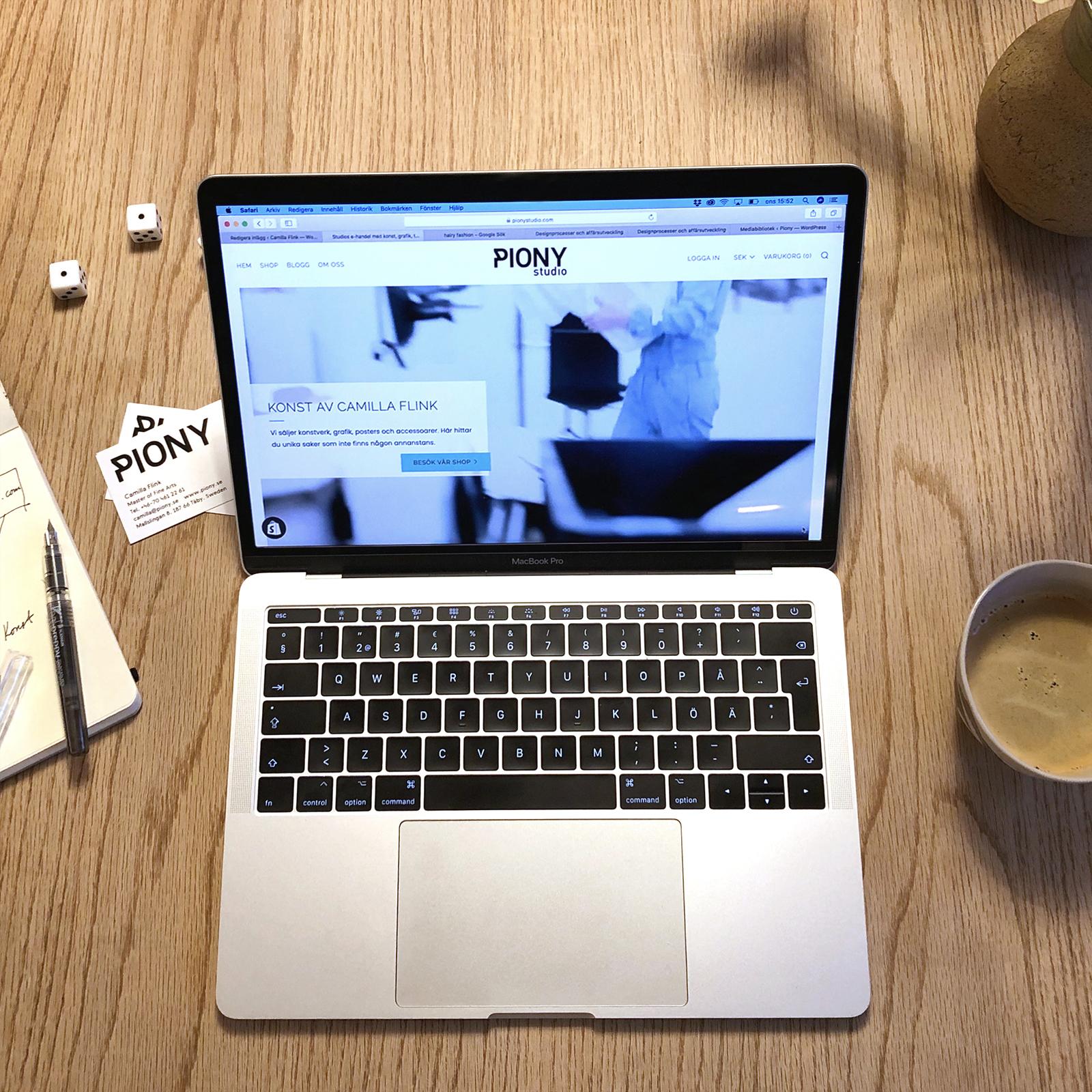 laptop PionyStudio